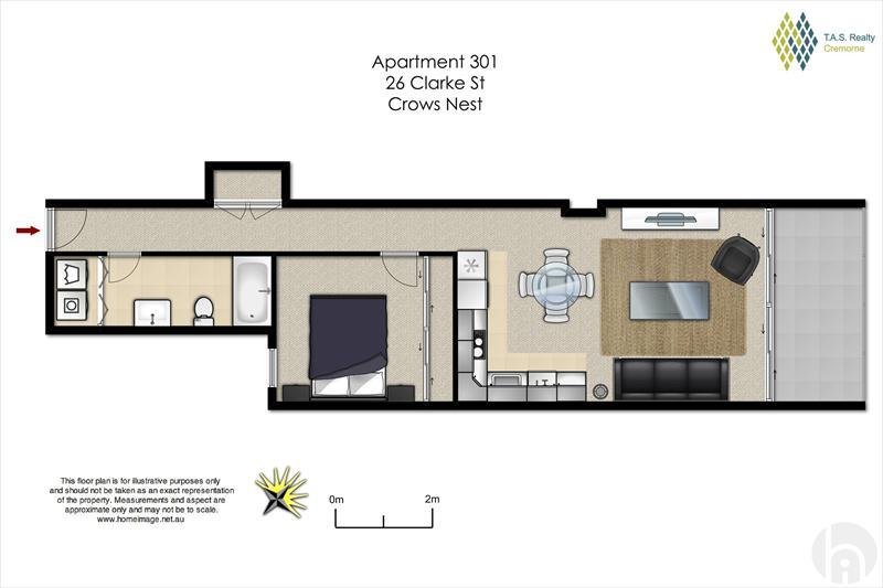 Sale apartment block of units crows nest 301 26 for Kirribilli house floor plan